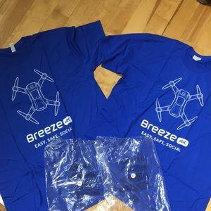 Breeze Blue Shirts
